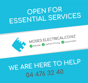 Moses electrical - Covid 19